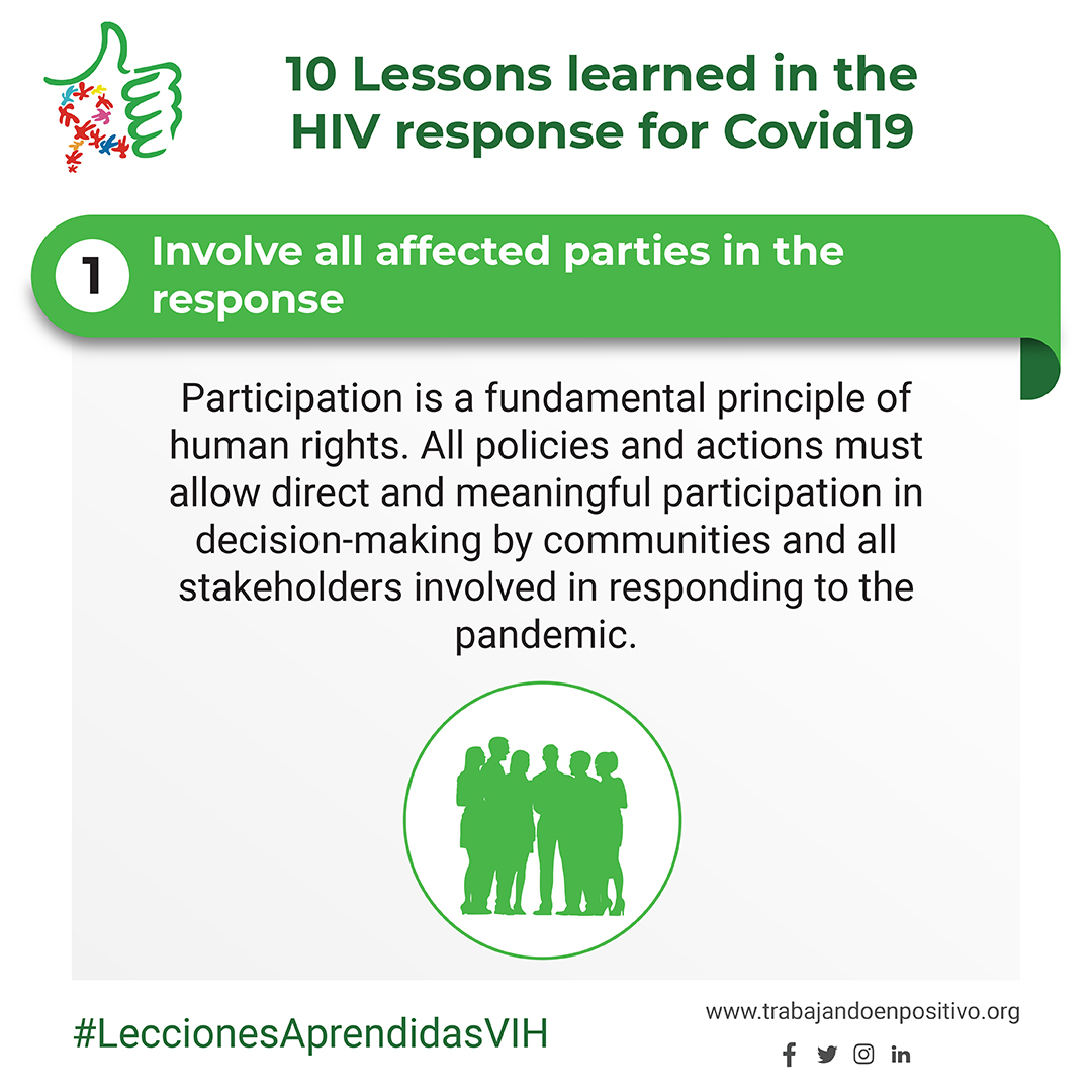 1. Involve all affected parties in the response