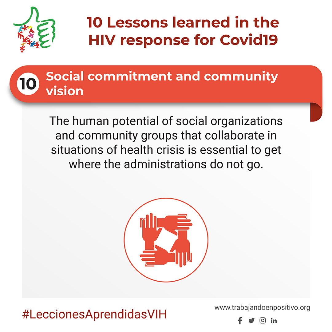 10. Social commitment and community vision