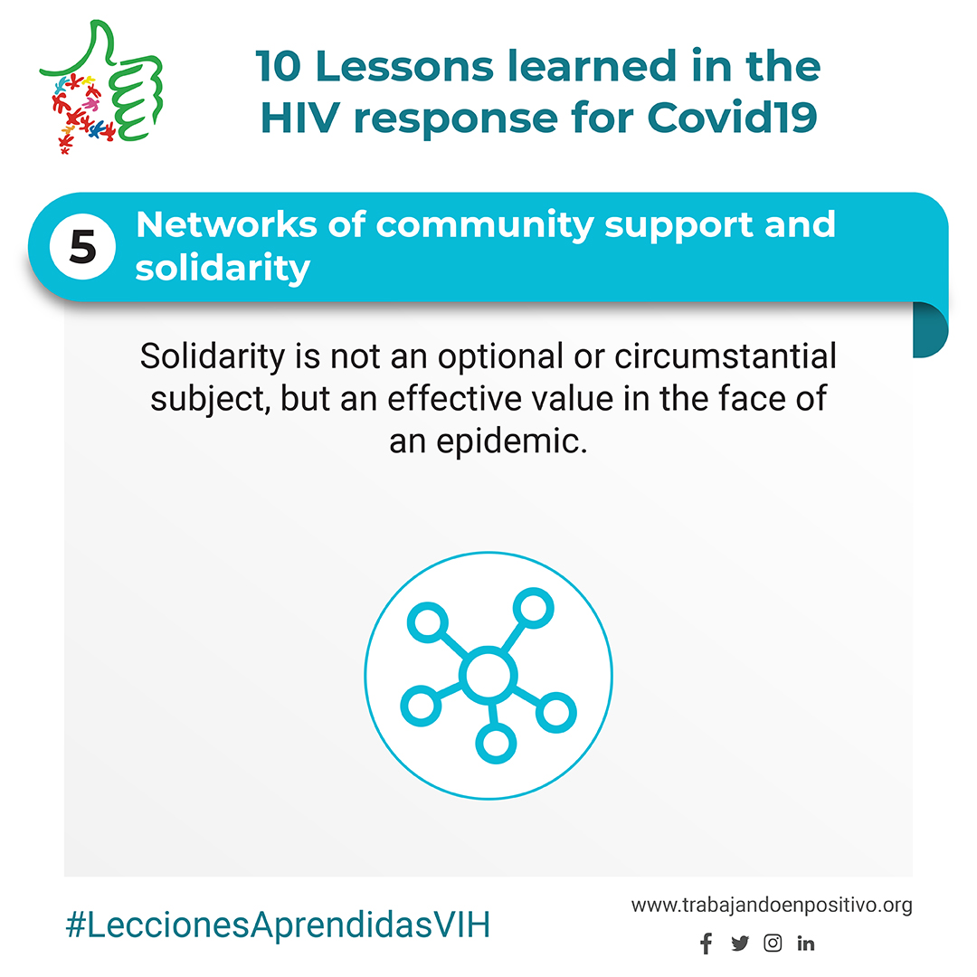 5. Networks of community support and solidarity