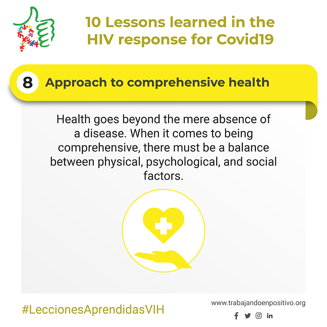 8.  Approach to comprehensive health