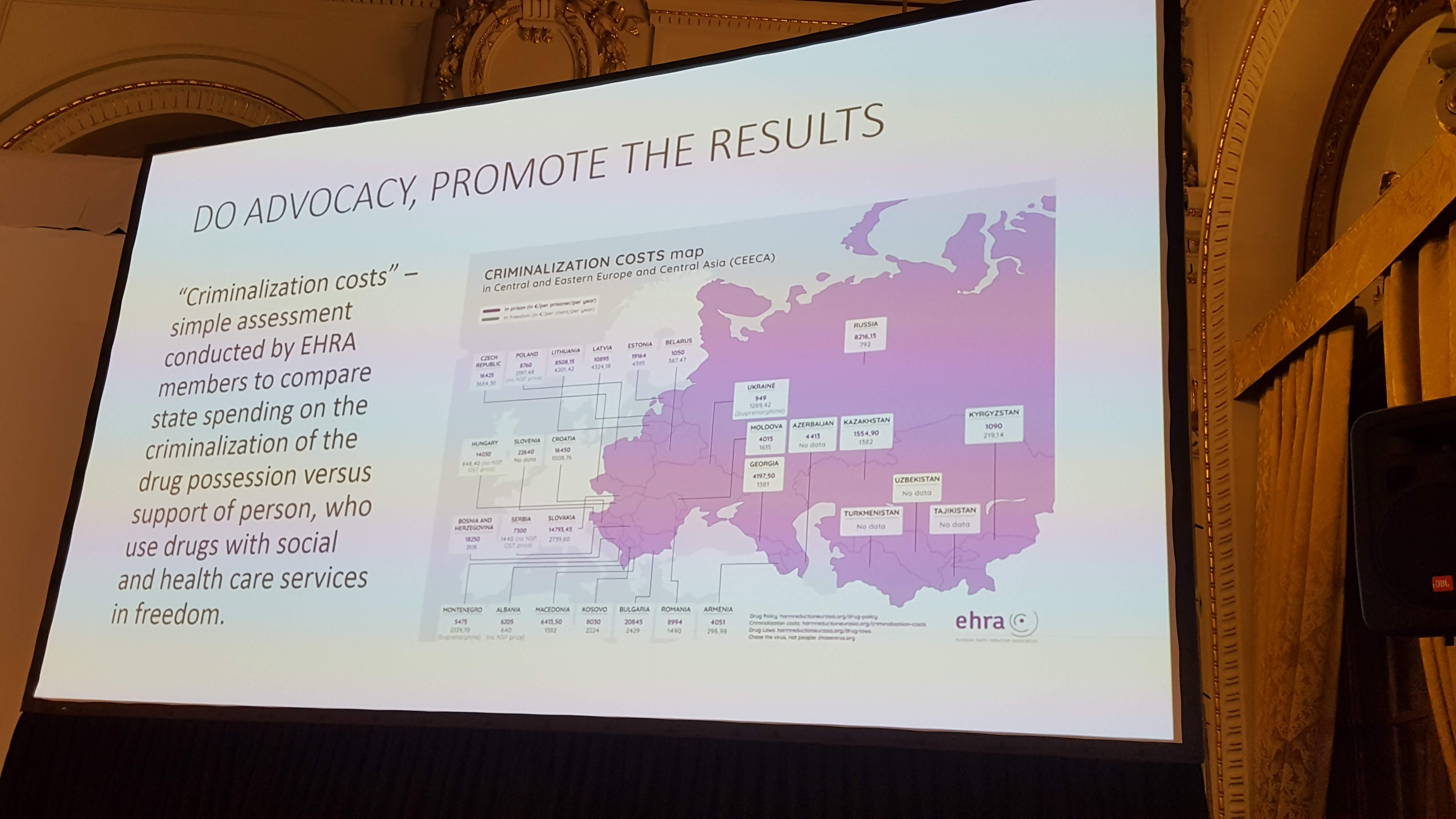 Criminalization Costs EHRA, HepHIV 2019