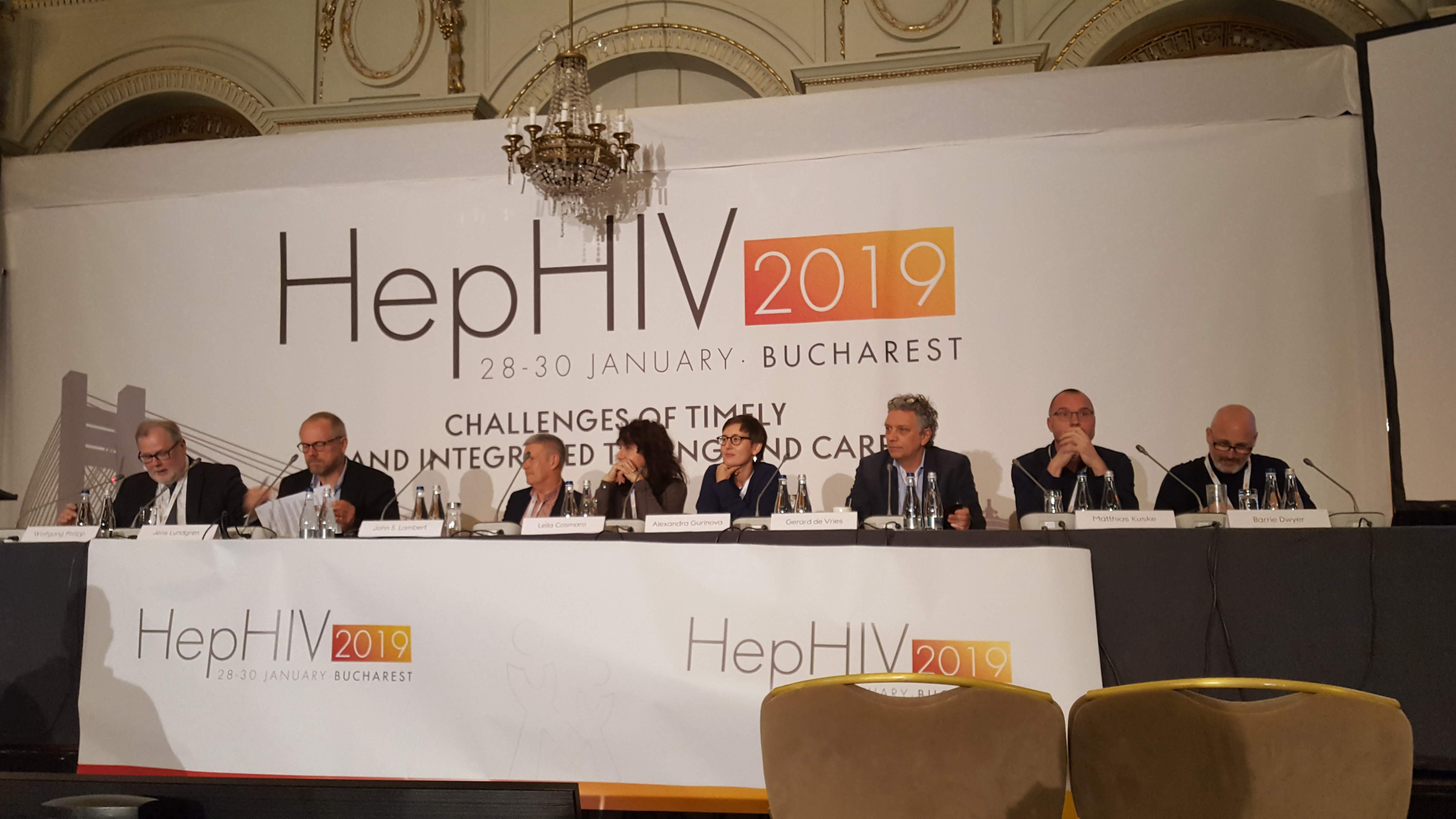 HA-REACT at HepHIV 2019