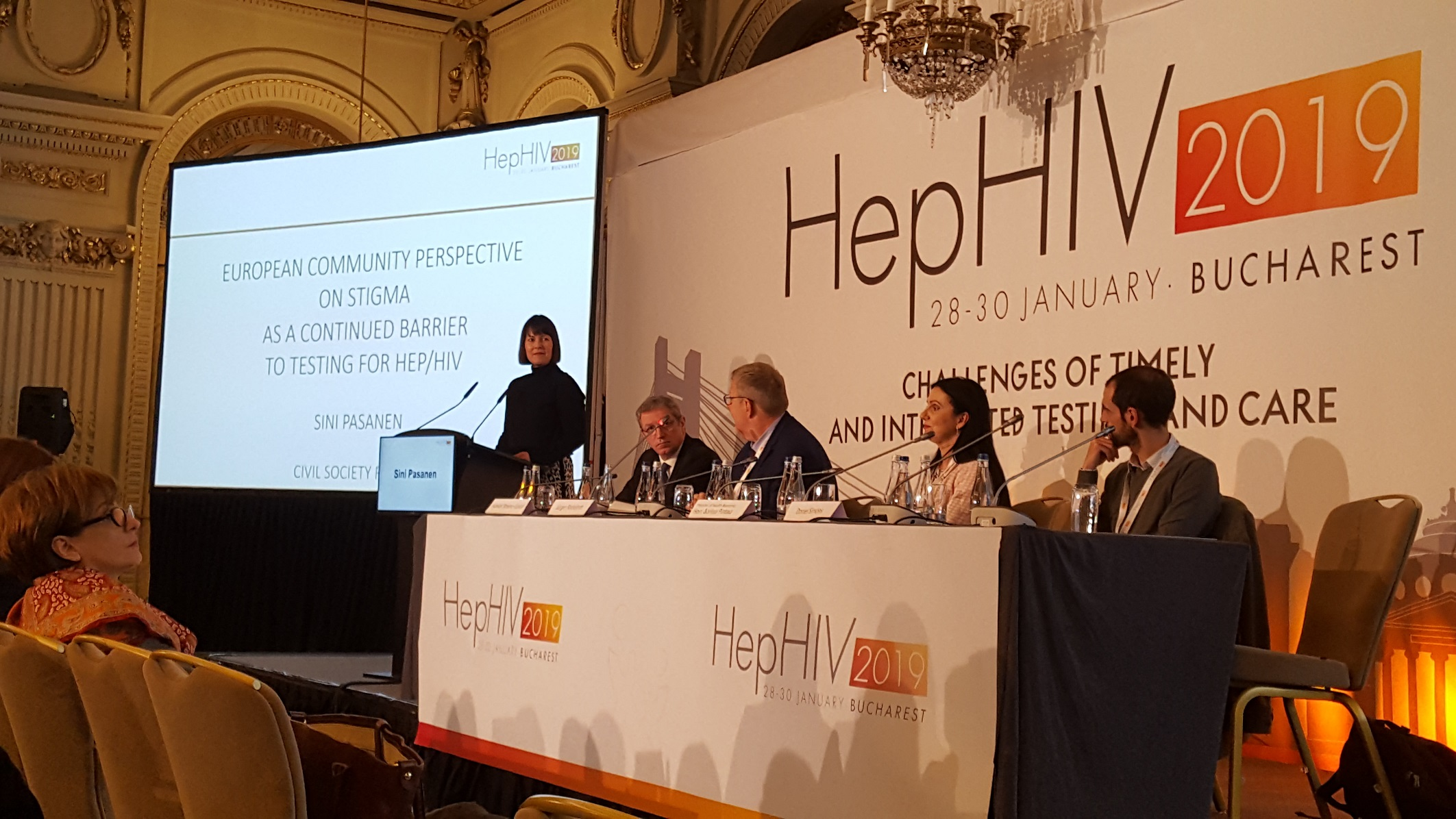 Sini Pasanen at HepHIV 2019 Conference