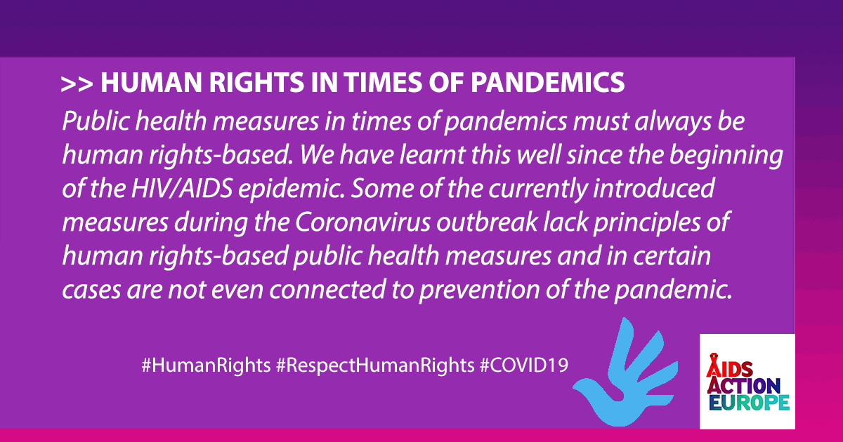 ENG Public health measures in times of pandemics must always be human rights-based. Share on Facebook 2020