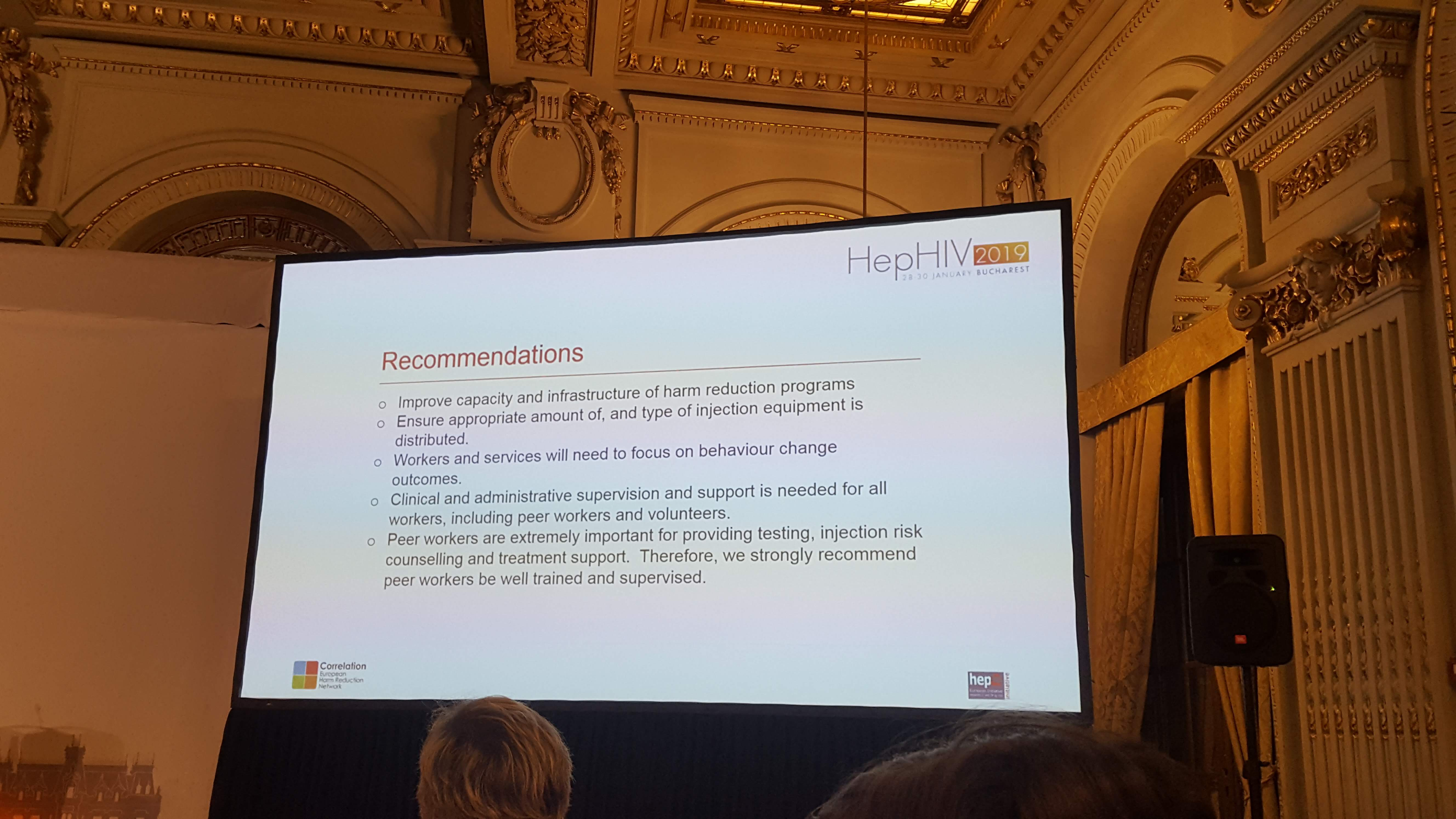 Recommendations by HepHIV 2019