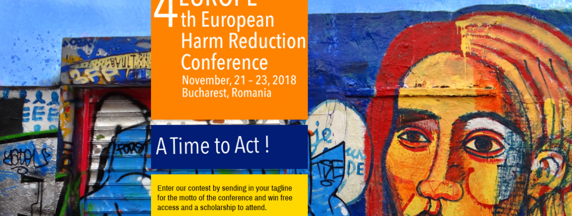 4th Harm Reduction Conference 2018 in Bucharest, Romania