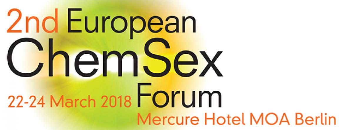 2nd European ChemSex Foum, Berlin, Germany, 2018