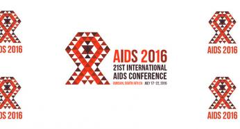 The 21st International AIDS Conference to take place on 18-22 July 2016