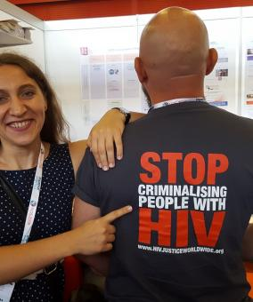 Stop criminalising people living with HIV - Valeria Rachinska and Ferenc Bagyinszky