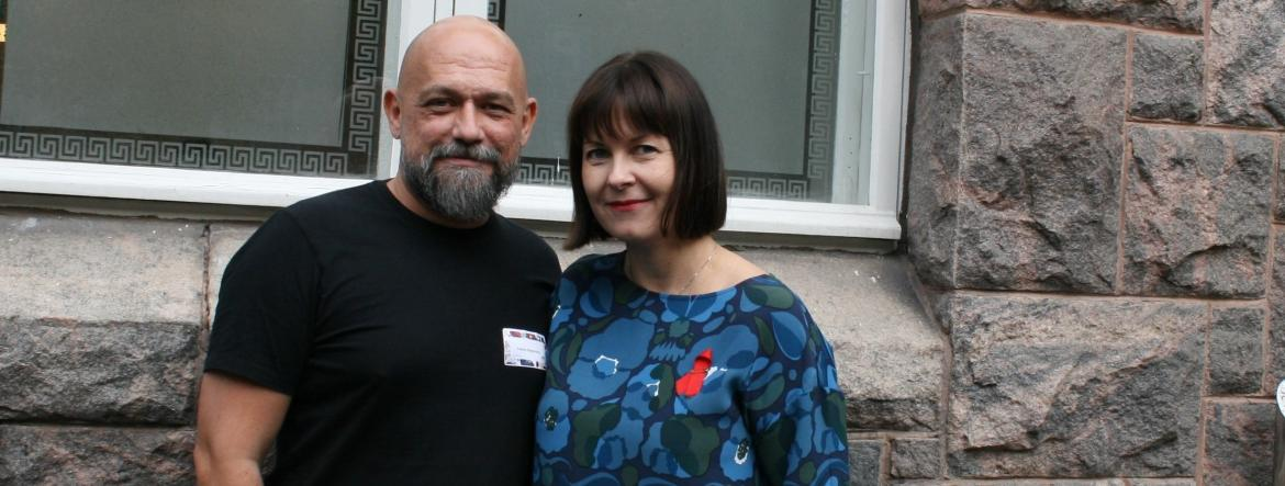 Ferenc Bagyinszky and Sini Pasanen 2019