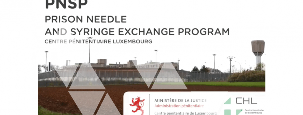 Harm Reduction in Prisons, Luxembourg 2018
