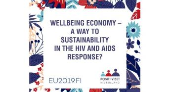 Wellbeing Economy – a Way to Sustainability in the HIV and AIDS Response? 2020
