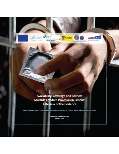 Availability, Coverage and Barriers Towards Condom Provision in Prisons: A Review of the Evidence, 2019 HA-REACT