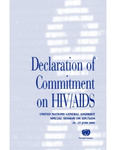 Declaration of Commitment on HIV/AIDS