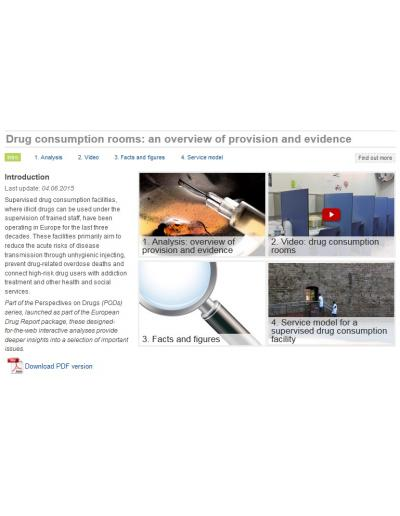 Drug consumption rooms: an overview of provision and evidence