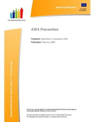 Eurobarometer AIDS PREVENTION