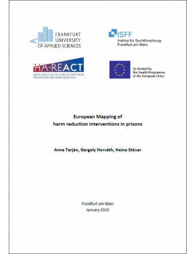 European Mapping of Harm Reduction Interventions in Prisons pic, HA-REACT 2019