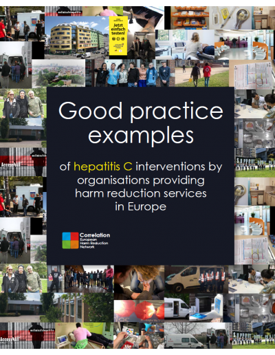 Good practice examples of hepatitis C interventions by organisations providing harm reduction services in Europe 2019