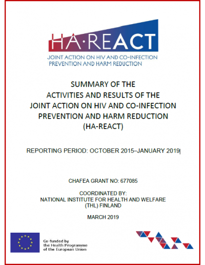 HA-REACT 3rd Laymans Report 2019