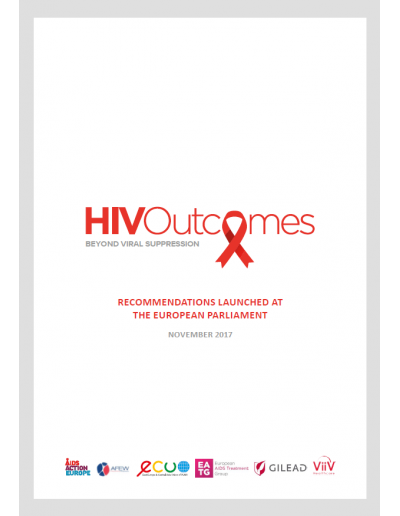 HIV Outcomes Recommendations Booklet 2017
