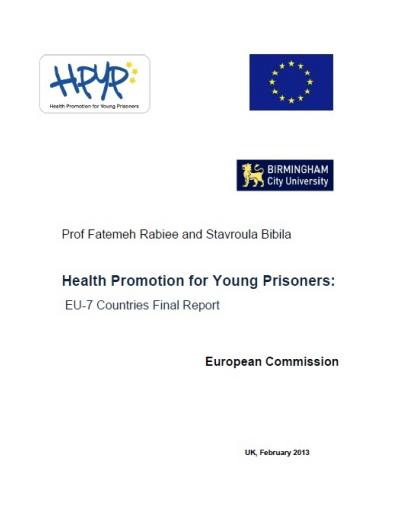 Health Promotion for Young Prisoners (HPYP): EU-7 Countries Final Report