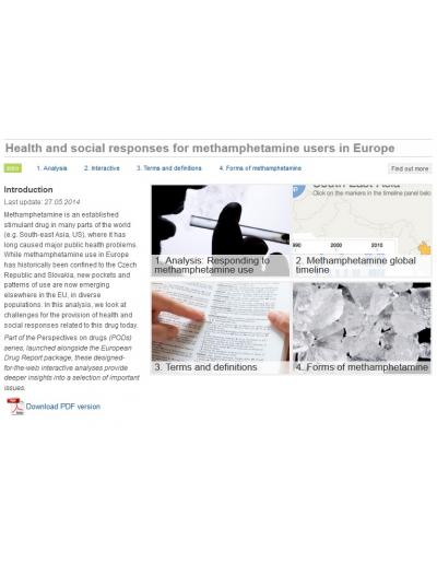 Health and Social Responses for Methamphetamine Users in Europe