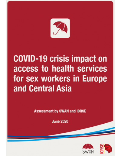 Assessment on the Impact of COVID-19 on Sex Workers' Access to Health Services in Europe and Central Asia 2020