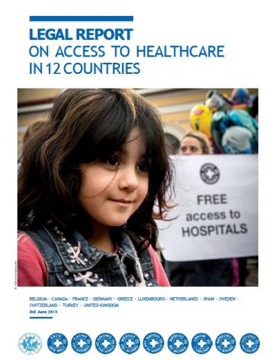 LEGAL REPORT ON ACCESS TO HEALTHCARE IN 12 COUNTRIES