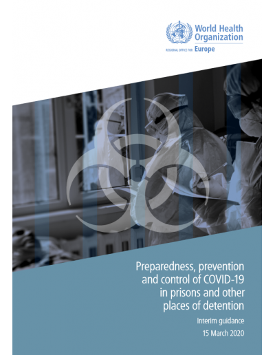 Preparedness, preventionand control of COVID-19 in prisons and other places of detention 2020