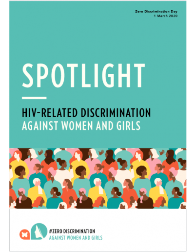 Spotlight — HIV–related discrimination against women and girls 2020