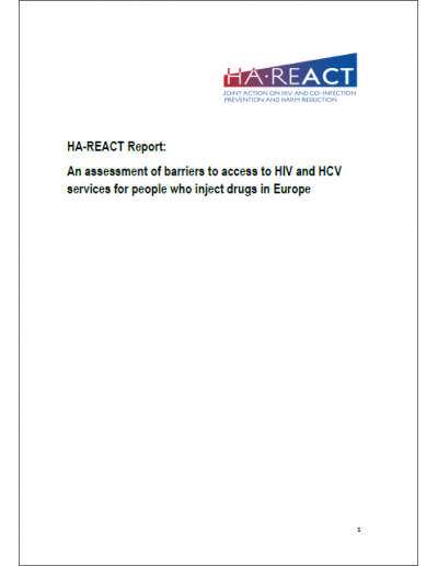 An assessment of barriers to access to HIV and HCV services for people who inject drugs in Europe