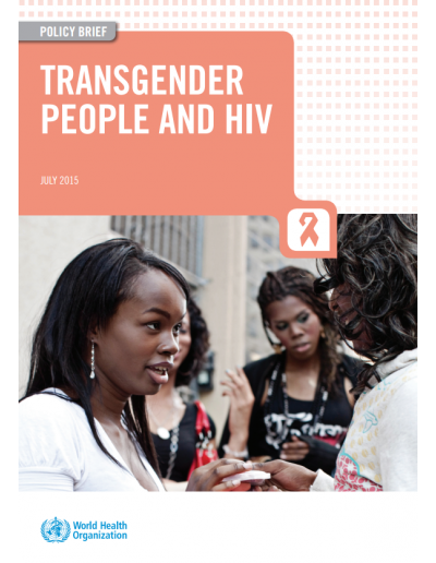 WHO Transgender people and HIV